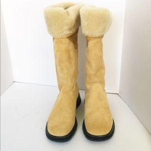 Blondo Shearling Boots Size 7